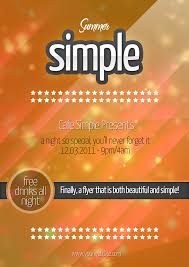 summer simple a party flyer by quickandeasy on summer simple a5 party flyer by quickandeasy1