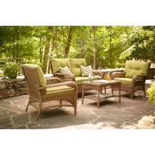 piece outdoor loveseat cushion set