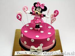 Mickey Mouse Birthday Cake Mickey Minnie Mouse Cakes