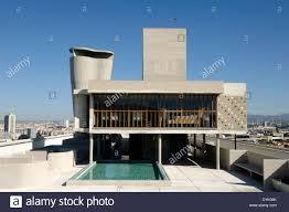 Toit Terrasse De La Cité Radieuse Ou Unité Dhabitation Le Corbusier