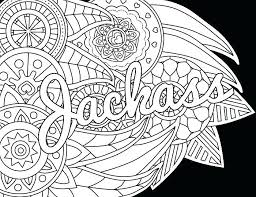 Swear Word Coloring Book Pages Coloring Pages Best