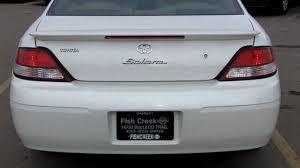 2001 Toyota Solara SLE V6 White - FISH CREEK NISSAN - YouTube