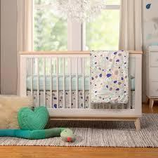 elegant fleeting flora 6 piece crib bedding set reviews allmodern 6 piece crib bedding set decor