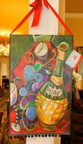 what is a wine fundraiser without a painting