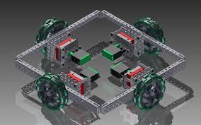 Cad Robot Design Robodesigners Vex Cad