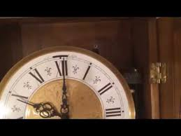 westminster chime wall clock w silent