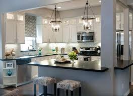 lantern kitchen island lighting. Pendant Light Lantern Kitchen Island Lighting Small Lamps Grey Mosaic Granite Symmetrical Wooden Cabinets . S