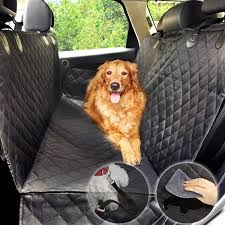 dog hammock car seat cover for dog water proof protector for pet rear seat cover