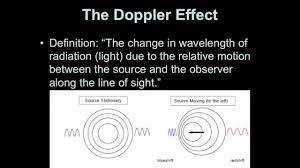 Doppler Effect And Light Introductory Astronomy Doppler Effect For Light