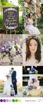 Purple and green wedding colors Lilac green Purple Wedding Color Inspiration Wedding Colors Green Purple Spring Wedding Color Inspiration Wedding Colors