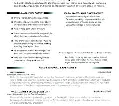 Bartender Resume Sample Amazing Administrative Assistant Resume Skills Examples Resume Skill For