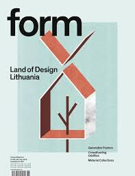 Design N Form Form 264 Land Of Design Lithuania Magazine Design Design