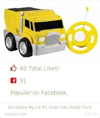 facebook like dump truck. Unique Truck Top Christmas Gift On Undefined 40 People Likes Internet 31 Facebook  Likes Kid Galaxy Amazon Gift My 1st Rc Gogo Auto Dump Truck  Intended Facebook Like Dump Truck O