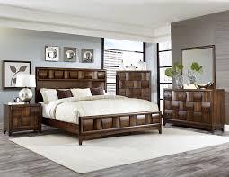 Modern Queen Bedroom Sets Homelegance Porter Modern 4pcs Woven Warm Walnut Queen Bedroom Set