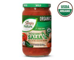 Organic Thick & Chunky Mild Salsa - Simply Nature | ALDI US