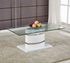 White modern coffee table Lacquer Portland White High Gloss And Chrome Glass Modern Coffee Table Furniturebox Furniturebox Portland White High Gloss And Chrome Glass Modern Coffee Table