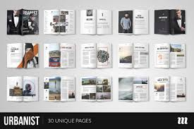 Indesign Magazine Templates 011 Urbanist Magazine Indesign Template Free Download Layout