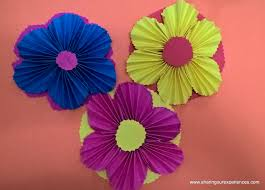 How To Make The Paper Flower How To Make Paper Flowers Sharing Our Experiences