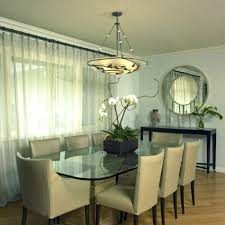 round mirrors for dining room designs