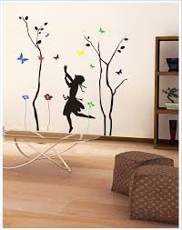 gloob decal style tree wall sticker at flipkart snapdeal dancing girl with art n paintings by interior