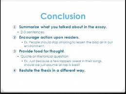 argumentative writing ppt video online conclusion summarize what you talked about in the essay