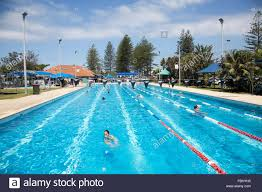 byron bay public open air olympic size swimming pool near main beach new south wales