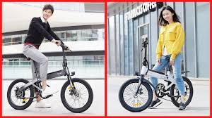 Xiaomi <b>HIMO C20</b> Folding <b>Electric</b> bicycle 2020 - YouTube