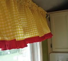 Red Curtains For Kitchen Kitchen Curtains Red Cliff Kitchen
