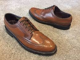 Florsheim Shoe Tree Size Chart Details About Royal Imperial Florsheim Wing Tip Oxford Shoes