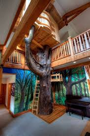kids tree house.  Tree Kinderzimmer  Indoor Tree House 10 Cool Ideas For Kids Throughout Kids Tree House E