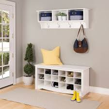 white entryway furniture. Image Of: New White Entryway Storage Bench Design Furniture I