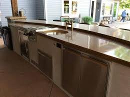 outdoor kitchen countertops outdoor outdoor kitchen countertops concrete outdoor kitchen countertops