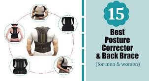 15 Best Posture Corrector Back Brace For Men Women 2019