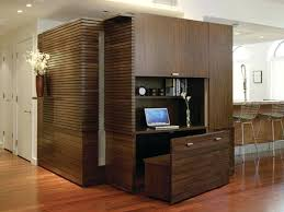 ... Design For Small Spaces Beautiful Dark Brown Rustic Home Wall Base  Cabinet Floor Contemporary Office Wood Desk Office 58 Inspire Q Nelson  Industrial ...