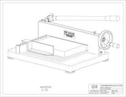 419i9dDH3tL._SX425_ amazon com qcm 8200m heavy duty desktop stack paper cutter on plumbing job sheet template