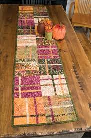 406 best Quilt Runners images on Pinterest | Carpets, Gift and ... & CRANBERRY CHUTNEY TABLE RUNNER KIT Adamdwight.com