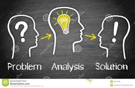 Problem Analysis And Solution Stock Image Image Of