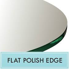 25 inch round clear tempered glass table top 1 4 thick flat