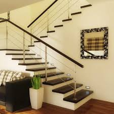 how to decorate your stairway wall