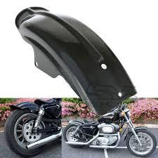 black rear fender splash mudguard for harley sportster xl 883