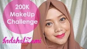 200k makeup challenge indahalzami 1 year ago 200k makeup challenge bahasa indonesia