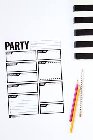 Party Planning Lists Party Planning Checklist How To Plan A Party Keep Your
