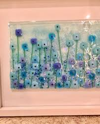 fused glass fused glass wall art
