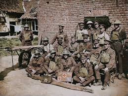 Somerset Light Infantry 1914 1918 Troops Of The 230th Field Ambulance Ramc And The 12th West