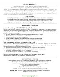 Interesting Property Manager Resume No Experience How To Write A