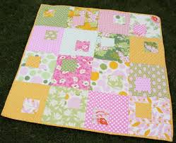 Baby Block Quilt Patterns Amazing Beautiful And Simple Baby Quilt Patterns Baby Quilt Awesome And