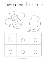 Select from 35478 printable coloring pages of cartoons, animals, nature, bible and many more. Lowercase Letter B Coloring Page Twisty Noodle