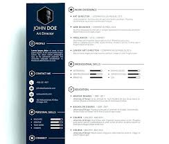 Creative Resume Templates Free Download Fancy Resume Templates Free