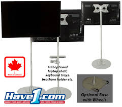 Product Display Stands Canada Portable TV Stands Carts iPad Stands 73