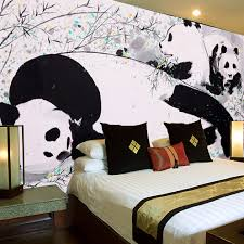 Amazing Free Shipping David Panda Cute Animal Print Photo Living Room Bedroom  Wallpaper Murals Decorate The Lobby
